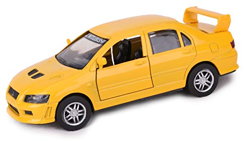 Toyland® 1:32 Scale Die Cast City Cruiser - Model Car - Toy Car (Mitsubishi Lancer Evolution VII)