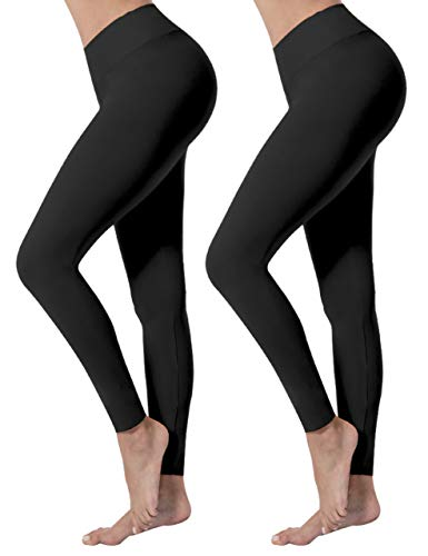 VALANDY Leggings for Women High Waisted Tummy Control Workout Running Yoga Leggings Plus Size & One Size