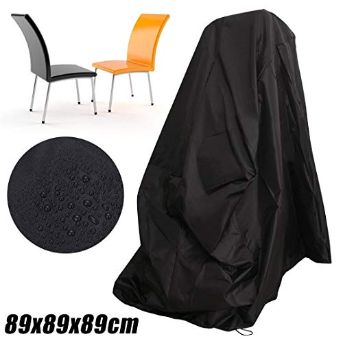 Tarp Tarpaulin Waterproof Chair Cover Dust Rain Cover for Outdoor Garden Patio Furniture Protection Cover 89x89x89cm Plant Covers MDYHJDHYQ
