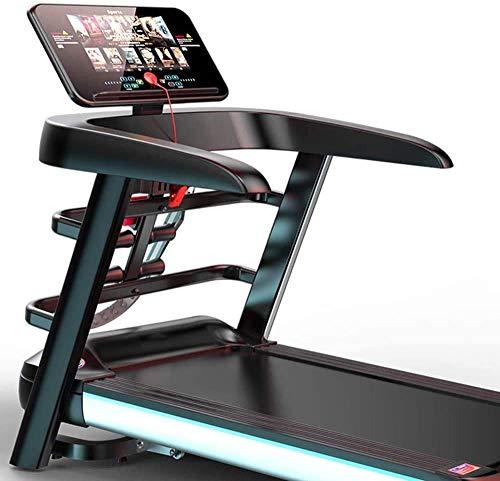 DYB Cinta de Correr de Alta Gama Caminadora de Andar en casa, Cinta de Correr Multifuncional con Pantalla a Color WiFi para el Funcionamiento de Equipos de Gimnasia en la casa