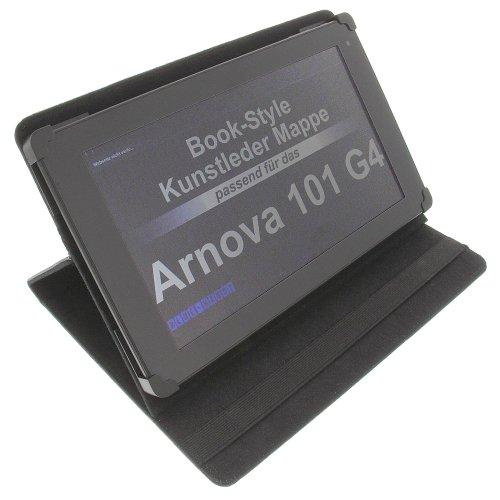 foto-kontor Tasche für Arnova 101 G4 BookStyle Tablettasche Schutz Hülle Schwarz