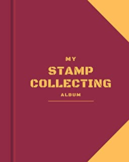 My Stamp Collecting Album: Stamp Collecting Album to Collect Your All Favorite Stamp or Currencies | Stamp Album for Kids ...