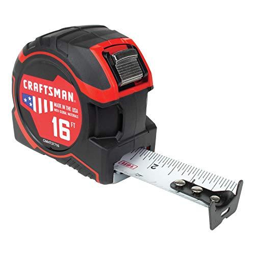 CRAFTSMAN Tape Measure 16-Foot (CMHT37716S)