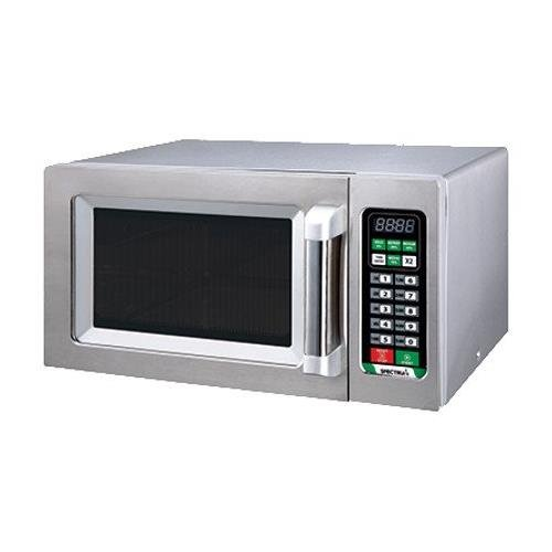 Winco EMW-1000ST 1000 W Spectrum Commercial Stainless Steel Touch Control Microwave