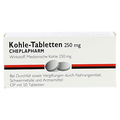 KOHLE Tabletten 50 St