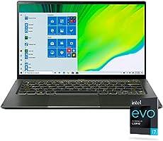 "Acer Swift 5 Intel Evo Thin & Light Laptop, 14"" Full HD Touch, Intel Core i7-1165G7, Intel Iris Xe Graphics, 16GB..."