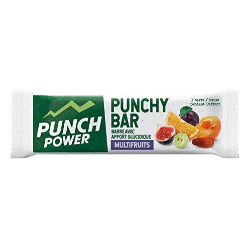 Punch POWER Marca francesa Barrita energética deportiva Punchy Bar Multifrutas 30 g