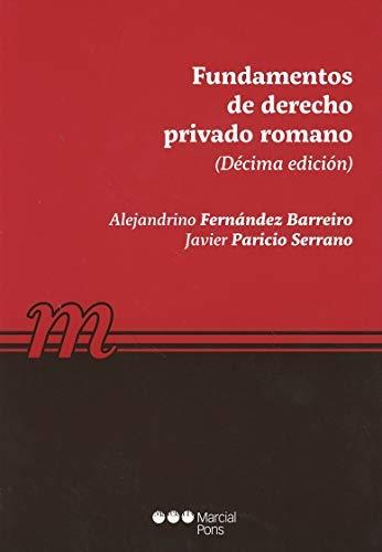Fundamentos de Derecho privado romano (Manuales universitarios)