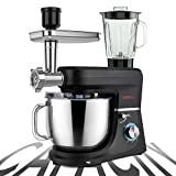 SanLidA 6-IN-1 Stand Mixer, 9.5 Qt. 10-Speed Multifunctional Electric Kitchen Mixer with 9 Accessories for...