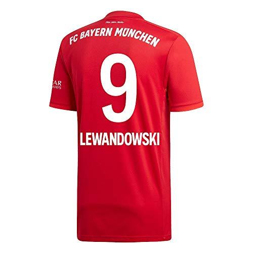 adidas Bayern München Home Lewandowski 9 Trikot 2019-2020 (Fan Style Beflockung) - 176cm