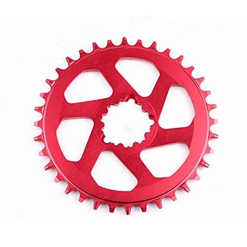 Qewrt Juego de bielas de Bicicleta MTB con compensación de 3mm 30T / 32T / 34T / 36T Disco de Engranaje Negativo Positivo para Bicicleta de Monta?a para Piezas NX GX X9 X0 X01 XX1