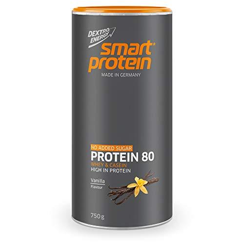 Eiweißpulver Vanille Dextro Energy | Protein Shake Vanille | Casein Protein & Whey Protein Mix | Ideal als Proteinshake für den Sommer