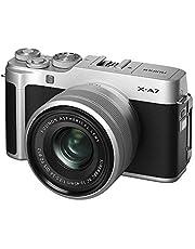 FUJIFILM ミラーレス一眼カメラ X-A7レンズキット シルバー X-A7LK-S