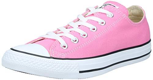 Converse Chuck Taylor All Star, Zapatillas de Lona Infantil, Rosa (Pink), 33 EU (1 UK)
