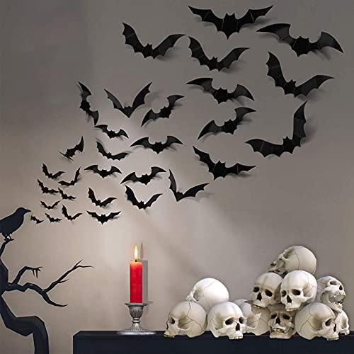 3D Bats Wall Decor