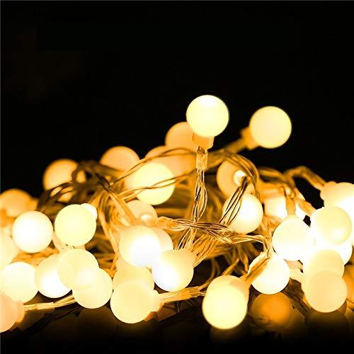 HDZBB Fairy Lights Waterproof Led Ball Fairy String Usb String Light Christmas Wedding Decoration Outdoor Lighting