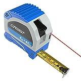 Cacoffay Multifunktions Entfernungsmesser-USB-Aufladung mit Batteriekapazität 300mA Abstand zwischen Lasermessgerät mit digitalem LCD-Display