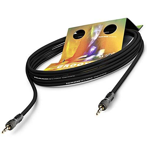 Sommer Cable Patchkabel SC-Goblin Mini-Klinke auf Miniklinke 2x HICON HI-J35S-SCREW-M (0,5m) | GOCU-0050-SW