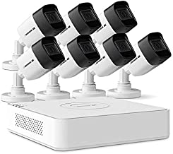 Defender 4k Ultra HD Security Cameras Night Vision Mobile Viewing Motion Detection Cameras for Security Outdoor Security Cameras for Home (7 Cameras)