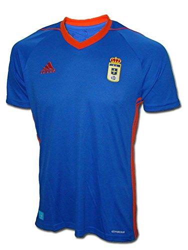 adidas RO H JSY Camiseta de Equipación-Real Oviedo Sad, Hombre, Azul (azufue),...