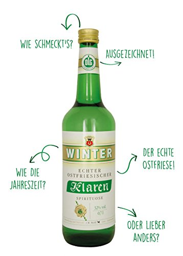 Wein Wolff Winter Ostfriesischer Klaren 32% vol. (1 x 0.7 l)