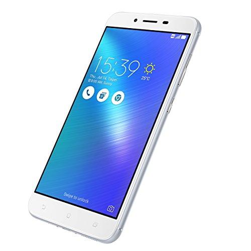 ASUS ZC553KL - 4J022WW Zenfone 3 Max-Smartphone 5.5'', WiFi, RAM 3 GB, memoria interna 32 GB, fotocamera digitale 12 Mp, Android 6.0), argento, uscita dal ghiacciao Kenai Fjords Park