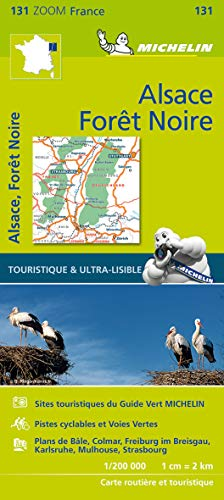 Black Forest, Alsace, Rhine Valley - Zoom Map 131: Map (Michelin Zoom Maps)