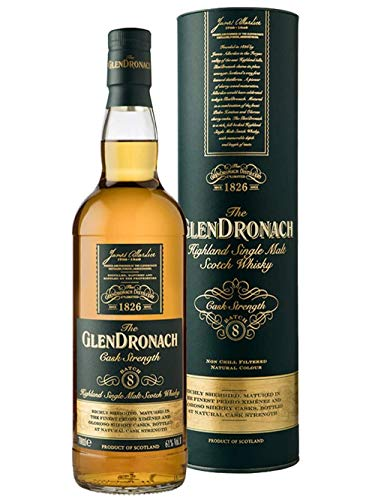 The GlenDronach Cask Strength Batch 08 Whisky (1 x 0.7 l)