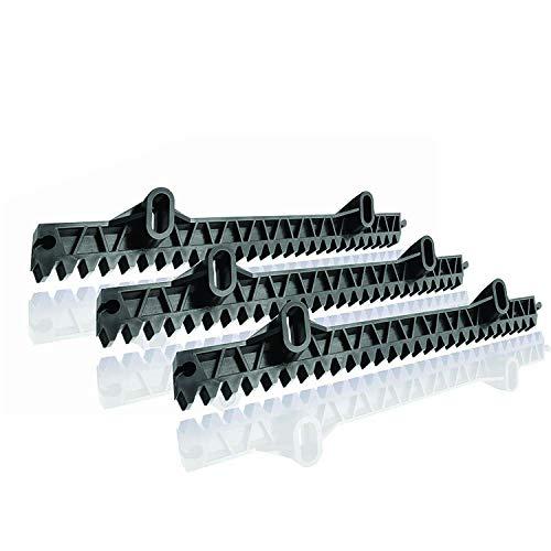 Somfy 2400501 Zusätzliche Zahnstange und Ritzel für Schiebetor| 3 x 33 cm | Kompatibel mit Freevia und Slidymoove Motoren