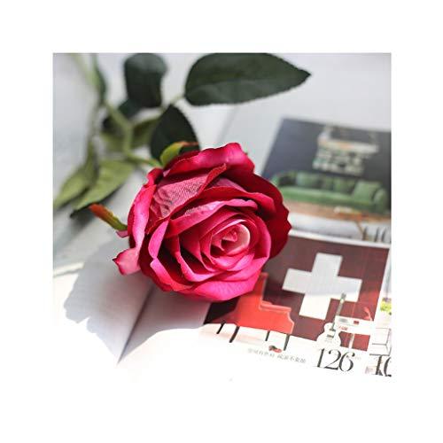 CAIM-Artificial Flower 10-delig/losse bloemen roos kunstbloemen zijden bloemen roos bruiloft boeket huisdecoratie party bloemen bruidsmeisje