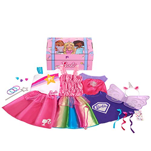 Barbie 21-Piece Dress Up Trunk, Amazon Exclusive