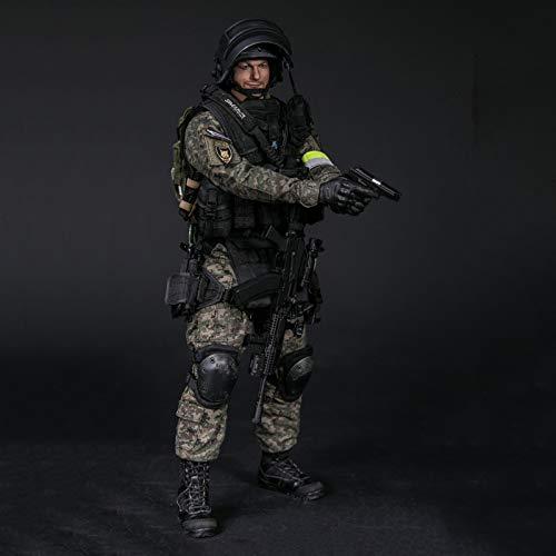 1/6 RUSSIAN SPETSNAZ MVD SOBR LYNX Figuras De Acción Soldado Militar Modelo De Estatua De Juguete Muñecas De Materiales De Protección Del Medio Ambiente De PVC Adornos Con Accesorios Muy Detallados