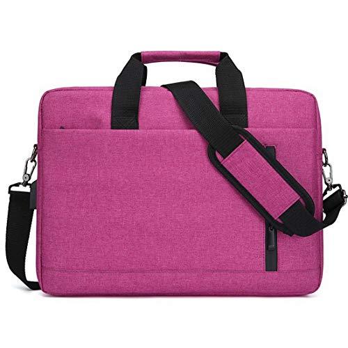 Fusanadarn waterdichte laptoptas voor Messenger met beschermhoes voor laptops van 14 inch en 15 inch