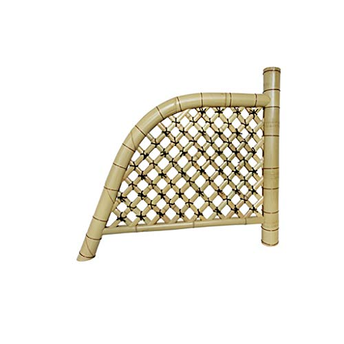 QBZS-YJ Bamboo fence decoration creative handmade fence villa yard balcony landscape bamboo view outdoor indoor gardening bamboo fence courtyard
