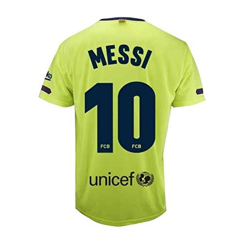 Camiseta 2ª equipación del FC. Barcelona 2018-2019 - Replica Oficial Licenciado - Dorsal 10 Messi - Adulto