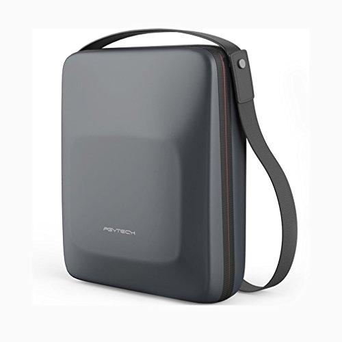 Borsa impermeabile per droni, con cinturino in PU, borsa a tracolla in EVA anti-shock, custodia protettiva resistente, custodia rigida per il trasporto compatibile con DJI Mavic Air.
