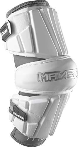 Maverik Lacrosse Max Arm Guard - White Large