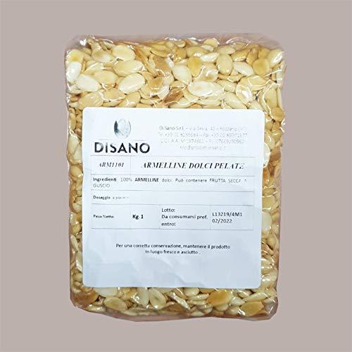 Lucgel Srl (1 Kg) ARMELLINE Dulce Pelado 100% Frutos Secos para Pastelería...