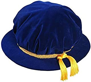 Deluxe Doctoral Academic Beefeaters Sun Hat Unisex With Cord,Size Adjustable