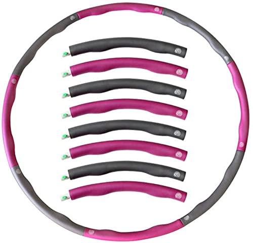 Coldiroch hula hoop-Heavy Duty fitness hoop-1,4 kg-perdita di peso attrezzature fitness - personalizzabile facile da usare cerchio fitness
