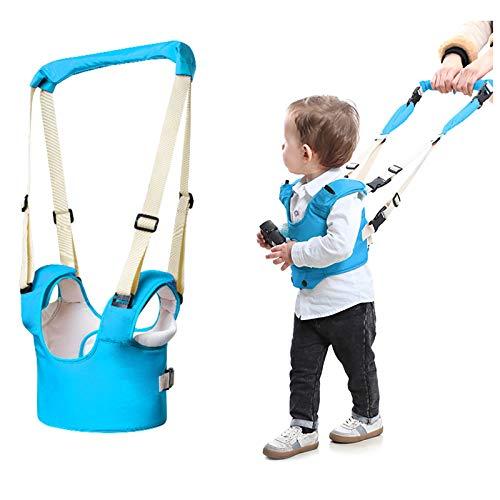 DMFSHI Lauflernhilfe Gehhilfe für Baby, Lauflernhilfe für Baby, Vierpunkt Verstellbare Schnalle Stand Up und Walking Learning Helper Gürtel für 6-18 Monate Baby Infant Kids