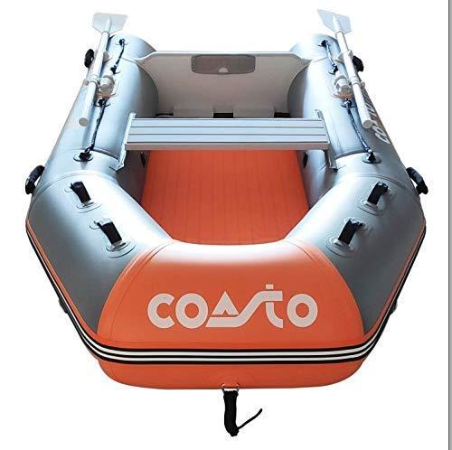 COASTO Schlauchboot mit Dropstitch Boden, Dingi, Beiboot, Motorboot, Ruderboot, 250cm