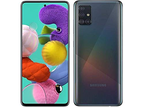 Samsung Galaxy A51 128GB (6,5 pulgadas) Pantalla Quad Camera 48MP A515U Negro...