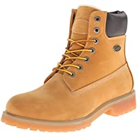 Lugz Mens Convoy Fleece Lined Boot (Golden Wheat/Bark/Tan/Gum)