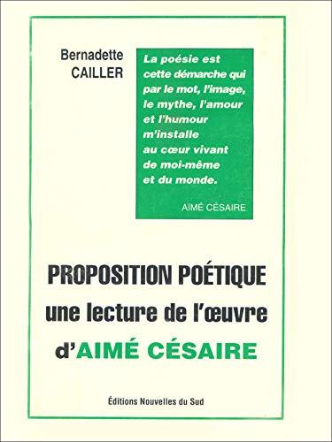 Proposition poétique (Poésie noire) (French Edition)
