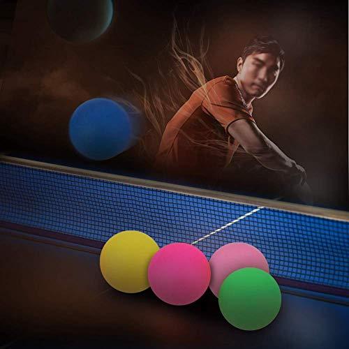 Jednolity kolor i bez słów Tenis stołowy Kolorowe piłeczki do ping-ponga Rozrywka Gaming Loteria Ozdobne piłki (60 sztuk na tubę)