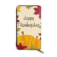Thanksgiving Day 長財布 メンズ レディース 本革 マネークリップ 財布 長財布 本革製 12カード入れ