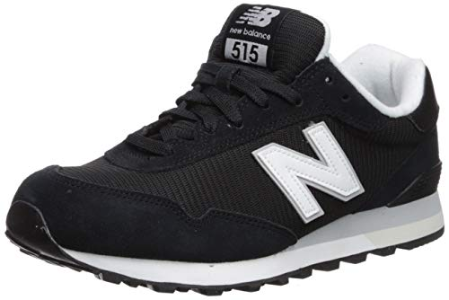 New Balance Herren 515 Core Sneaker, Schwarz (Black), 42.5 EU
