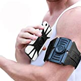 VUP Running Armband,2020 Upgraded Detachable and 360°Rotatable Sports Phone Holder Armband for iPhone11/Pro Max/XR/XS Max//8Plus/8/7/6s,Galaxy S10 Plus/S10/S9 Plus/S9/S8/S7,Note 4/5/8/9 Pixel 3/2 XL