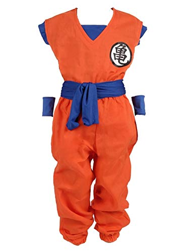 GUIRCA Costume guerriero Vegeta Dragon Ball carnevale uomo adulto mod 80734